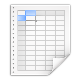Mimetypes x office spreadsheet icon