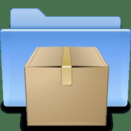 Places folder tar icon