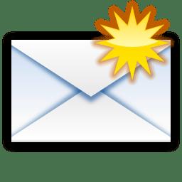 Status mail unread new icon