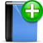 Actions-address-book-new icon