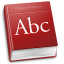 Apps accessories dictionary icon