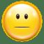 Emotes-face-plain icon