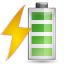 Status-battery-charging icon
