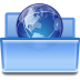 Actions-document-open-remote icon