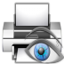 Actions-document-print-preview icon