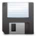 Devices-media-floppy icon