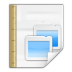Mimetypes-application-vnd-oasis-opendocument-presentation-template icon