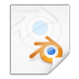 Mimetypes-application-x-blender icon