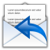 Status-mail-replied icon