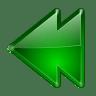 Actions-arrow-left-double icon