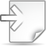 Actions-document-import icon