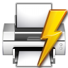 Actions-document-print-direct icon