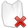 Actions-edit-delete-shred icon