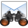 Actions-edit-find-mail icon