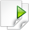 Actions-go-next-view-page icon