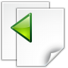 Actions-go-previous-view-page icon