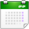 Actions-view-calendar icon