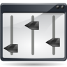 Actions-view-media-equalizer icon