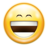 Emotes-face-laugh icon