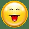 Emotes-face-raspberry icon