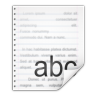 Mimetypes-application-rtf icon