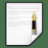 Mimetypes-text-rtf icon