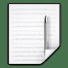 Mimetypes-text-x-katefilelist icon