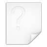 Mimetypes-unknown icon