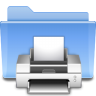 Places-folder-print icon