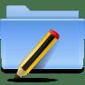 Places-folder-txt icon