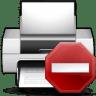 Status-printer-error icon