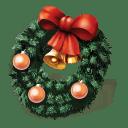 Christmas-wreath icon