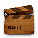 Wood video icon