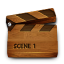 Wood video icon