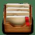 Wood-folder icon