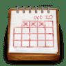 Wood-calendar icon