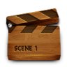 Wood-video icon