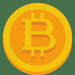 Bitcoin Icon Small Flat Iconset Paomedia