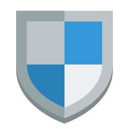 Shield Icon Small Flat Iconset Paomedia