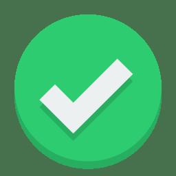 Sign check icon