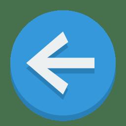 Sign left icon