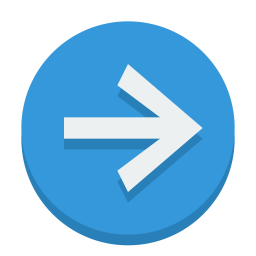 Sign right icon