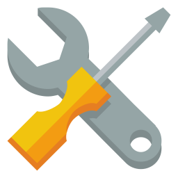 Wrench screwdriver icon