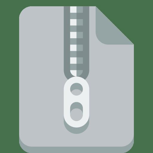 File-zip icon