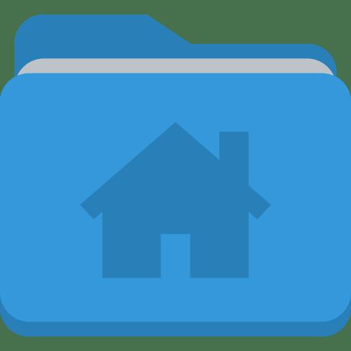 Folder house icon