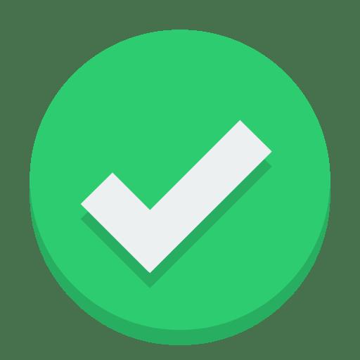 Sign-check icon