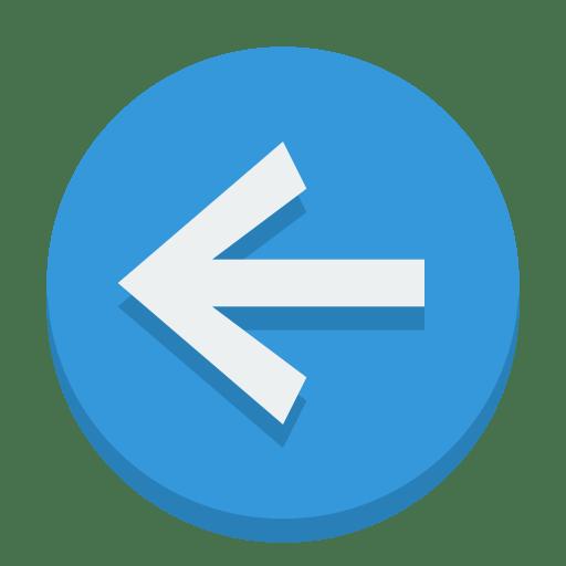 Sign-left icon