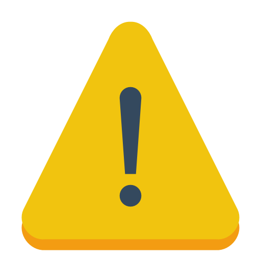 Sign-warning icon