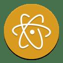 Atom beta icon