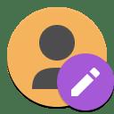 Contact editor icon